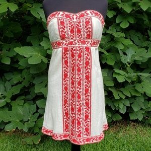 Flying Tomato Strapless Sun Dress,  Size M